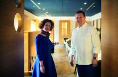 Michela ed Emanuele Scarello, fratelli, rispettivamente responsabili di sala e cucina del ristorante Agli Amici diGodia (Udine), 2 stelle Michelin