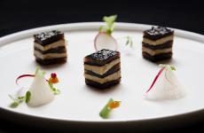 Millefoglie di foie gras: la ricetta primaverile di Simone Perata