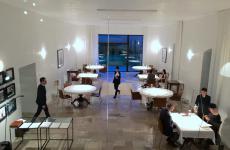 La sala del Reale Casadonna di Castel di Sangro