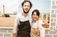 Marco Ambrosino, chef del 28 posti di Milano, e Bianca Celano,che nel 2018 ha chiuso la sua esperienza a Catania conQqucinaquie, da allora, si dedica alla consulenza