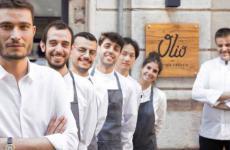 Lo staff di Olio cucina fresca, insegna aperta nel settembre 2017 inpiazzale Lavater1 aMilano, +390220520503 (foto del servizio tratte dainstagram)