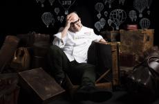 Paolo Brunelli nel ritratto dello studio Brambilla-Serrani a Identità Milano, marzo 2017