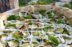 Pizza Nerano: il piatto dell'estate di Claudio De Siena