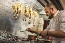 Errico Recanati, 47 anni, chef di Andreina a Loreto (Ancona), ristorante fondato dalla nonna nel 1959, una stella Michelin dal2013 (le foto sono di Emanuela Ercoli - Marvel Adv)