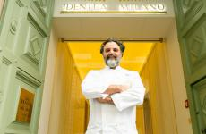 Marco Stabile è sbarcato a Milano per cucinare a nell'Hub della gastronomia di Identità Golose(tutte le fotoOnStageStudio)