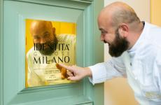 Domingo Schingaro, classe 1980, è chef deiDue Camini, e di tutto il resort di Borgo Egnazia,aSavelletri di Fasano (Brindisi)