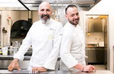 Le due firme della carta di Identità Golose Milano: il coordinatore Andrea Ribaldone e il resident chef Alessandro Rinaldi
