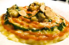 Riso Acquerello, limone, alloro e luccio mantecato del ristorantellMolodiPassignano sul Trasimeno (Perugia)