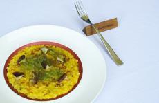 Risotto zucca, funghi shitake, alloro: il piatto dell'autunno di Alessandro Proietti Refrigeri