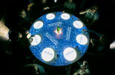 The Experience Table, lo spazio espositivo diS.Pellegrinoa Identità Milano 2018, conun'esperienza sensoriale immersivadal carattere sorprendente