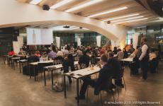 L'Anteprima del wine2wine nella sala degustazioni di Vinitaly International