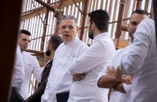Sauro Occhi, fotografato a Pastry Best: è uno dei tre fratelli che guidano la pasticceria Belvedere di Legnaro (Padova)