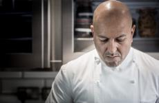 Sat Bains, 48. For the past 18 years, with his wife Amanda, he's been at the helm of Restaurant & Rooms Sat Bains in Nottingham, UK, 2 Michelin stars