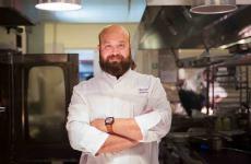 Domingo Schingaro, classe 1980, è chef dei Due Camini aSavelletri di Fasano (Brindisi)