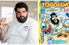Antonino Cannavacciuolo nei panni dello chef Paperacciuolo, su Topolino