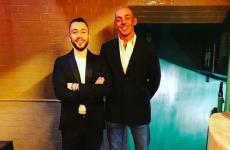 Lorenzo Costa e Daniele Bendanti, le due anime di Oltre, in via Augusto Majani 1b a Bologna, telefono+39.051.0066049(foto del postdai profili instagram e facebook)