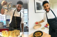 Nabil Bakouss, madre tunisina e padre marocchino, è sous chef al Joia di Pietro Leemann, a Milano