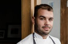 Samuele Maio, chef diSalvo Ristorante Cacciatoridi Imperia
