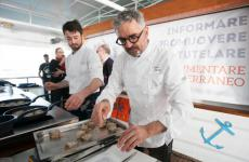 Mauro Uliassi al Mediterranean Cooking Congress 2019