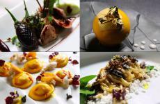 Quattro piatti firmati daGianluca Renzi, chef del neonatoLocaledi Firenze, uno dei quattro nuovi ingressi nella Guida di Identità Golose (fotolocalefirenze.it)