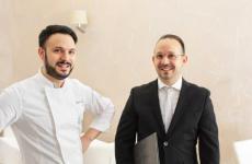 Nicola ed Enzo Baldi, da fine 2016 al timone diOsteria Il Moroa Trapani