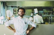 Franco Aliberti, chef delristorante Tre Cristia Milano (foto Stefan Ginthaler)