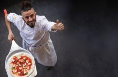 Fabrizio Mancinetti is the talented pizzaiolo from The Oven, high quality in Bath, in England