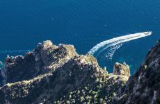 Italia bella. Una foto rubata dal Capri Palace, hotel del quale Ermanno Zanini è general manager