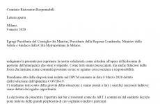 La lettera aperta dei Comitato Ristoratori Responsabili