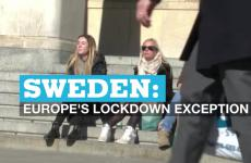 An image taken from France24's piece on the Swedish exception