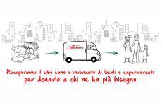 A Mantova, città East Lombardy, ma anche aGenova, Milano, Firenze, Roma, Civitavecchia, Cagliari e Napoli, con Pasto Buono le eccedenze alimentari di ristoranti e bar finiscono a chi ha bisogno di aiuto