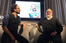 Federico Quaranta e Paolo Marchi durante la presentazione di Terra a Identità Golose Milano