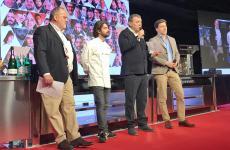 Paolo Marchi, Federico Sisti, Claudio Ceroni e Almir Ambeskovic: dal palco di Identità hanno annunciato il via alla seconda edizione di TheFork Restaurant Awards