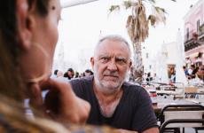 Giuseppe Mascoli, fondatore della catena di pizzerieFranco Manca(tutte le foto sono di Stefano Butturini)