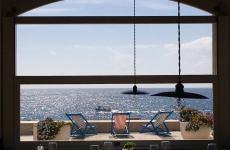 Lo specchio d'acqua antistate la Taverna del Porto a Tricase Porto sulla costa adriatica salentina