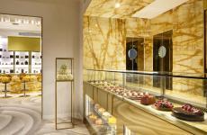 La pasticceria Velo dell'hotel The First Roma Dolce, nella capitale