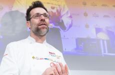 Renato Bosco sul palco del Congresso di Identità Golose: il pizzaiolo veronese sarà protagonista anche dell'edizione 2020, dal 24 al 26 ottobre