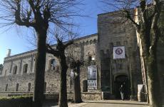 La fortezza di Montepulciano, dove si è svolta l'Anteprima del Vino Nobile