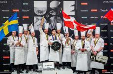 Il podio: prima la Danimarca, seconda la Svezia, terza la Norvegia